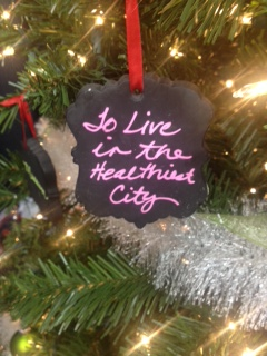 Healthy City Ornament