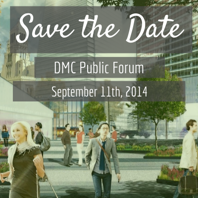 Save the Date - third public forum