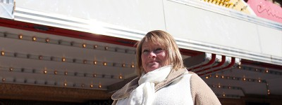 Lifelong Rochester resident and Mayo Clinic employee Rebecca Peterson's family has unique ties to the Chateau Theater on Peace Plaza--her grandfather plastered the original cityscape inside the auditorium, and her father worked on a mid-century restoration.