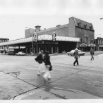 Corner of 1st Ave and 1st St SW in 1980