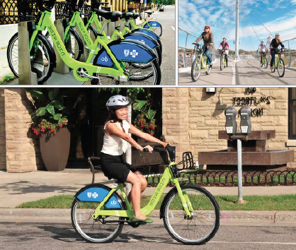 "Nice Ride MN identified Rochester as one of the first ""opportunity cities"" to implement their Greater Minnesota Strategy, an effort to extend the benefits of bike sharing to communities beyond the Twin Cities and explore new bike share technologies and operating structures necessary to meet a variety of user markets."