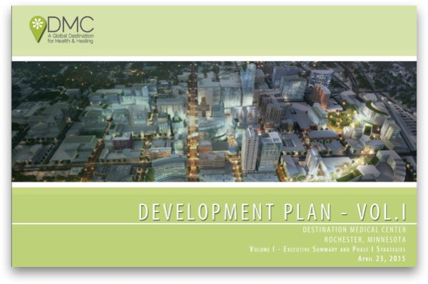 Cover image of DMC Development Plan Executive Summary