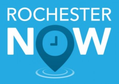 rochester now logo by brandhoot rochester mn