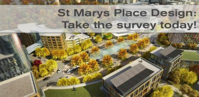 St Marys Place design: Take the survey today!