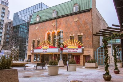 Historic Chateau Theatre Renovations Well Under Way