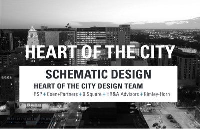 Heart of the City Public Space Schematic Design