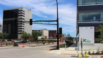 4th Street SW in Rochester nears completion