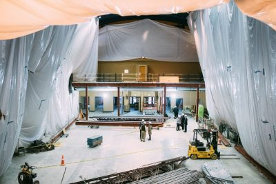 Renovations at Chateau Theatre