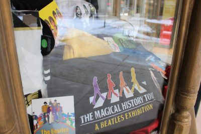 Beatles Exhibit Memorabilia